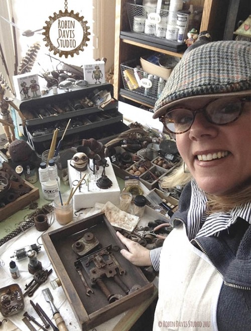 Making robots by Robin Davis Studio