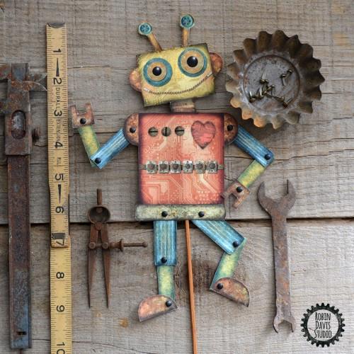 Valentine Robot by Robin Davis Studio