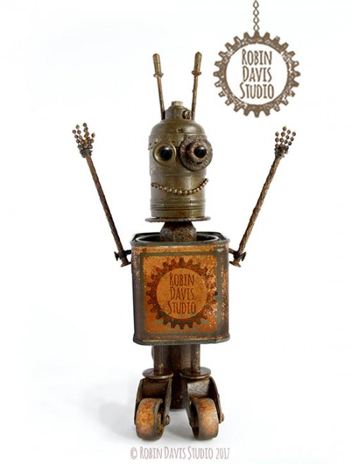 Found object Robots by RobinDavisStudio