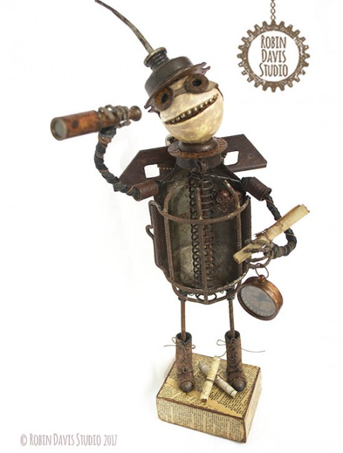 Steampunk figure by Robin Davis Studio