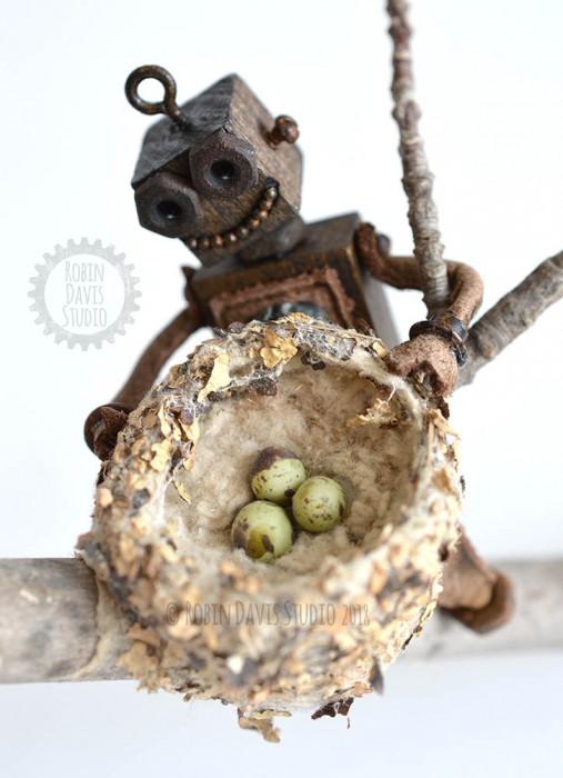 my minibots by Robin Davis Studio